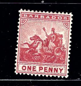 Barbados 94 MH 1907 issue