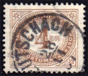 Austria Scott J25 Used.