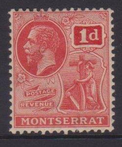 Montserrat Sc#57 MH - tanned gum
