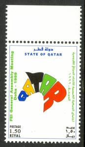 QATAR 1999 FEI GENERAL ASSEMBLY MEETING DOHA Issue Sc 920 MNH