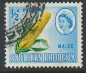Southern Rhodesia  SG 92  SC# 95  Used  Maize see scans