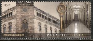 MEXICO 3094, POSTAL PALACE, MEXICO CITY.. MINT, NH. F-VF.