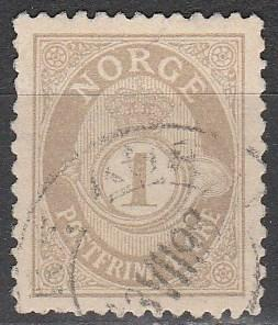 Norway #47a F-VF Used  CV $45.00  (S2195)
