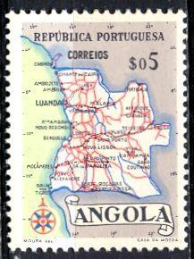Angola; 1955: Sc. # 386: **/MNH Single Stamp