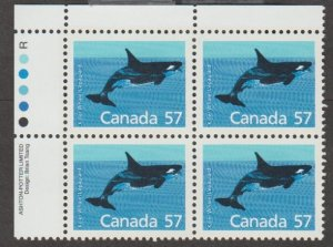 Canada Scott #1173 Stamp - Mint NH Plate Block