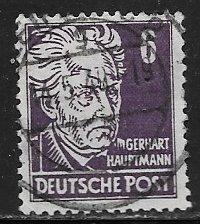 Germany DDR 10N30: 6pf 1948 definitive, used, VF