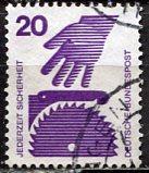 Germany; 1971: Sc. # 1076: O/Used Single Stamp
