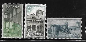 SPAIN, 1212-1214, MNH, SANTA MARIA MONASTERY, HUERTA 8TH CENT.