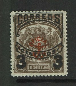 Chile SC# O10, Mint Hinged, Hinge Remnant - S12422