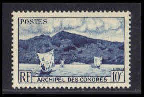Comoro Islands Very Fine MNH ZA5034
