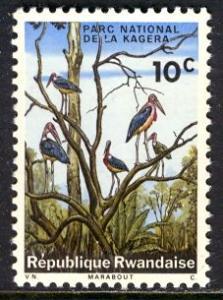 Rwanda: 1965; Sc. # 99, **/MNH Single Stamp