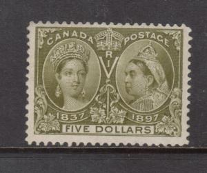 Canada #65 Mint Fine - Very Fine Very Lightly Hinged