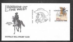 Just Fun Cover #2818 Norplex 94 Station North Platte Ne OCT/2/1994 (my4776)