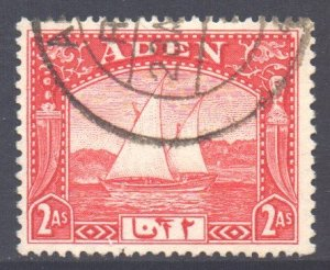 Aden Scott 4 - SG4, 1937 Dhow 2a used