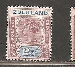 Zululand  SC  17 Mint, Never Hinged