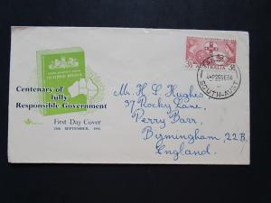 Australia SG# 288 First Day Cover w/ Royal Bible Cachet / Light Creases - Z4041