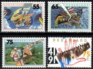 Netherlands #766-9 MNH CV $2.75  (P70)