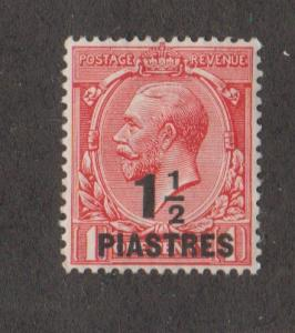 Great Britain Offices in Turkish Empire #56 Mint