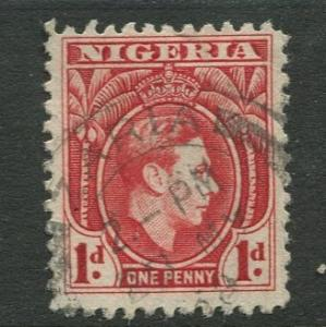 Nigeria-Scott 54 - KGV Definitive -1938 - Used - Single 1p Stamp