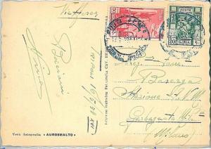 ITALIA COLONIE - LIBIA  : CARTOLINA per l'Italia  1938