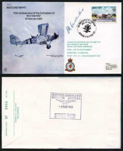 B17c 70th Ann of the Formation of No.11 Squadron Signed H. Constantine (AF)