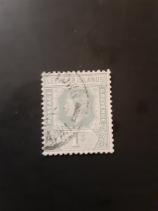 *Leeward Islands #134             Used