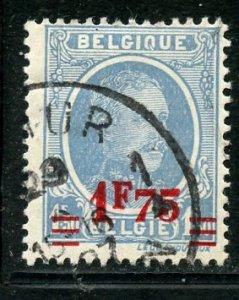Belgium # 194, Used.   A7