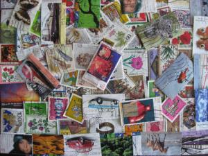 WEST GERMANY 83 different semi postals with modern, HV