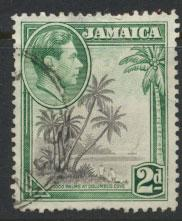 Jamaica  SG 124  - Used perf 12½ -  see scan and details