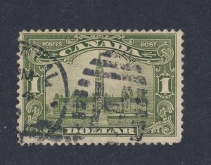 Canada $1.00 Parliament Used Stamp #159-$1.00 Used Fine+ Guide Value = $75.00