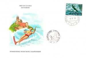 San Marino, Worldwide First Day Cover, Sports