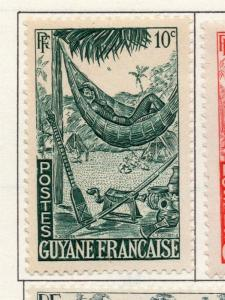 French Guiana 1946-47 Early Issue Fine Mint Hinged 10c. 177950