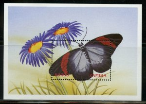 ZAMBIA FLOWERS GROUP OF TWO SOUVENIR SHEETS  MINT NH