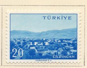 Turkey 1959 Early Issue Fine Mint Hinged 20K. 091494