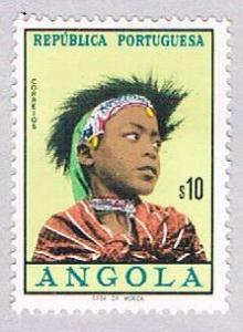 Angola 419 MLH Girls of Angola 1961 (BP2508)