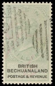 Bechuanaland Scott 11-20 Gibbons 10-19 Used Set of Stamps