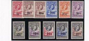 Bechuanaland 1961 SC 169-179 MNH Set