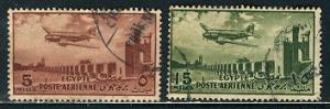 Egypt 1953: Sc. # C65-C66: O/Used Cpl. Set