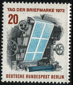 GERMANY BERLIN 1972 STAMP DAY MINT (NH) SG B423 P.14 SUPERB