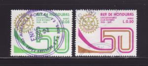 Honduras C673-C674 U Rotary International (A)