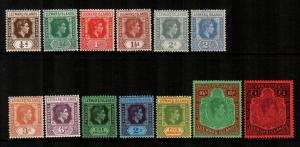 Leeward Islands #103-115  Mint  Scott $149.45