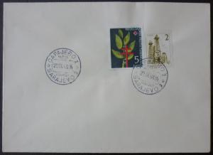 Yugoslavia Red Cross Stamp On Cover ! rotes kreuz jugoslawien N46