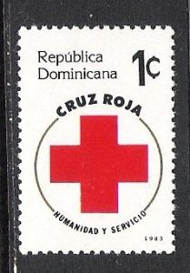 DOMINICAN REPUBLIC RA94 MNH RED CROSS S253