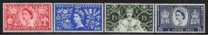 Great Britain 313 - 16 mnh 2013 SCV $16.40 - see description