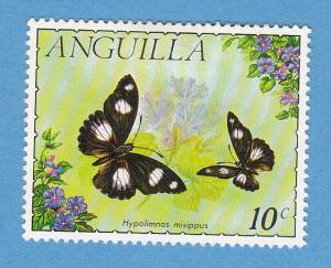 Anguilla 123 MHR - Hypolimnas Misippus Butterfly