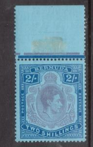 Bermuda #123 (SG #116e) Very Fine Never Hinged Top Margin Copy