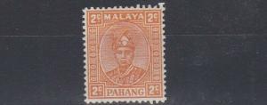 PAHANG  1935 - 41      2C  ORANGE  UNISSUED