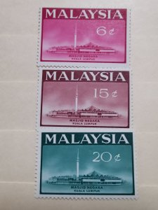 MALAYSIA 1965 OPENING OF NATIONAL MOSQUE  KUALA LUMPUR ISLAMIC IN MINT CONDITION