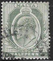 Malta 21 Used - Edward VII