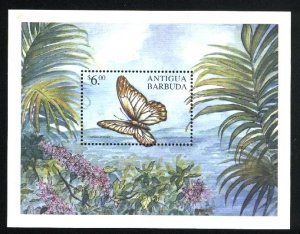 Antigua & Barbuda 3226  SS   Butterfly  M NH VF 2000 PD